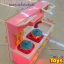 MINI KITCHEN ชุดเครื่องครัวสำหรับเด็ก ชุดเครื่องครัวของเล่นสำหรับเด็ก thumbnail 3