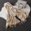 Imitation cashmere scarft ผ้าพันคอ (สีดำ) thumbnail 6