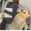 High quality knitted sweater women (สีเทาเข้ม) thumbnail 3