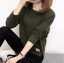 เสื้อกันหนาว Sweater authum N winter women (สีเขียว) thumbnail 1