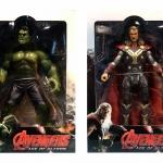 โมเดลฟิกเกอร์ Thor & Hulk