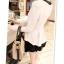 หมดค่ะ SALE//SALE (ส่งฟรี) เสื้อแฟชั่นเกาหลี คัตติ้งสวยเนียบเข้ารูป สีขาว มีซิปด้านหลังใส่ง่าย เนื้อผ้าหนานุ่ม แต่งคอปกสีดำเก๋ๆ thumbnail 8