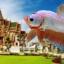 """(ขายแล้วครับ)""""คัดเกรด""""ปลากัดครีบสั้น-Halfmoon Plakats Super Fancy Dragon Sweet Colors thumbnail 1"""