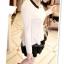 หมดค่ะ SALE//SALE (ส่งฟรี) เสื้อแฟชั่นเกาหลี คัตติ้งสวยเนียบเข้ารูป สีขาว มีซิปด้านหลังใส่ง่าย เนื้อผ้าหนานุ่ม แต่งคอปกสีดำเก๋ๆ thumbnail 7