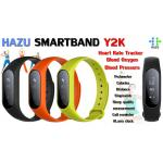 HAZU SMARTBAND Y2K สวยโค้งมน วัดอัตราการเต้นหัวใจ วัดออกซิเจน วัดความดัน