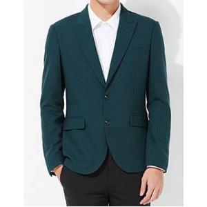 เสื้อสูทสไตล์อังกฤษ ปกปิด Size No.35 37 39 41 เขียว