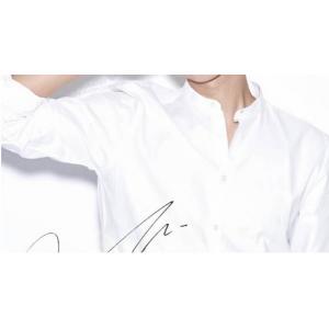 เสื้อเชิ้ตแขนยาว คอจีนแต่งปกเล็ก เกาหลี สลิมฟิต ขาว No.38