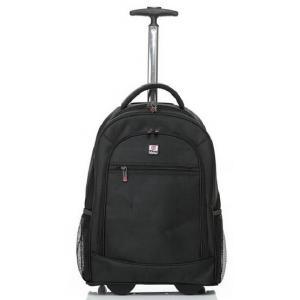 กระเป๋าลากโน้ตบุค แลบทอบ เป็นเป้สะพายหลังโนตบุค แทบเบลต ผ้าใบ XT สี ดำ