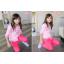 เสื้อผ้าเด็ก ชุดเด็กขายส่ง : เสื้อเด็กผู้หญิง สีหวานน่ารัก thumbnail 7