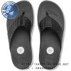 US8 : Fitflop Surfa Leather Lattice Black ของแท้ นำเข้าจาก USA และ UK