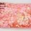 เลื่อมปัก ดอกไม้ สีส้มรุ้ง 14มิล(1ถุง/450กรัม) thumbnail 1